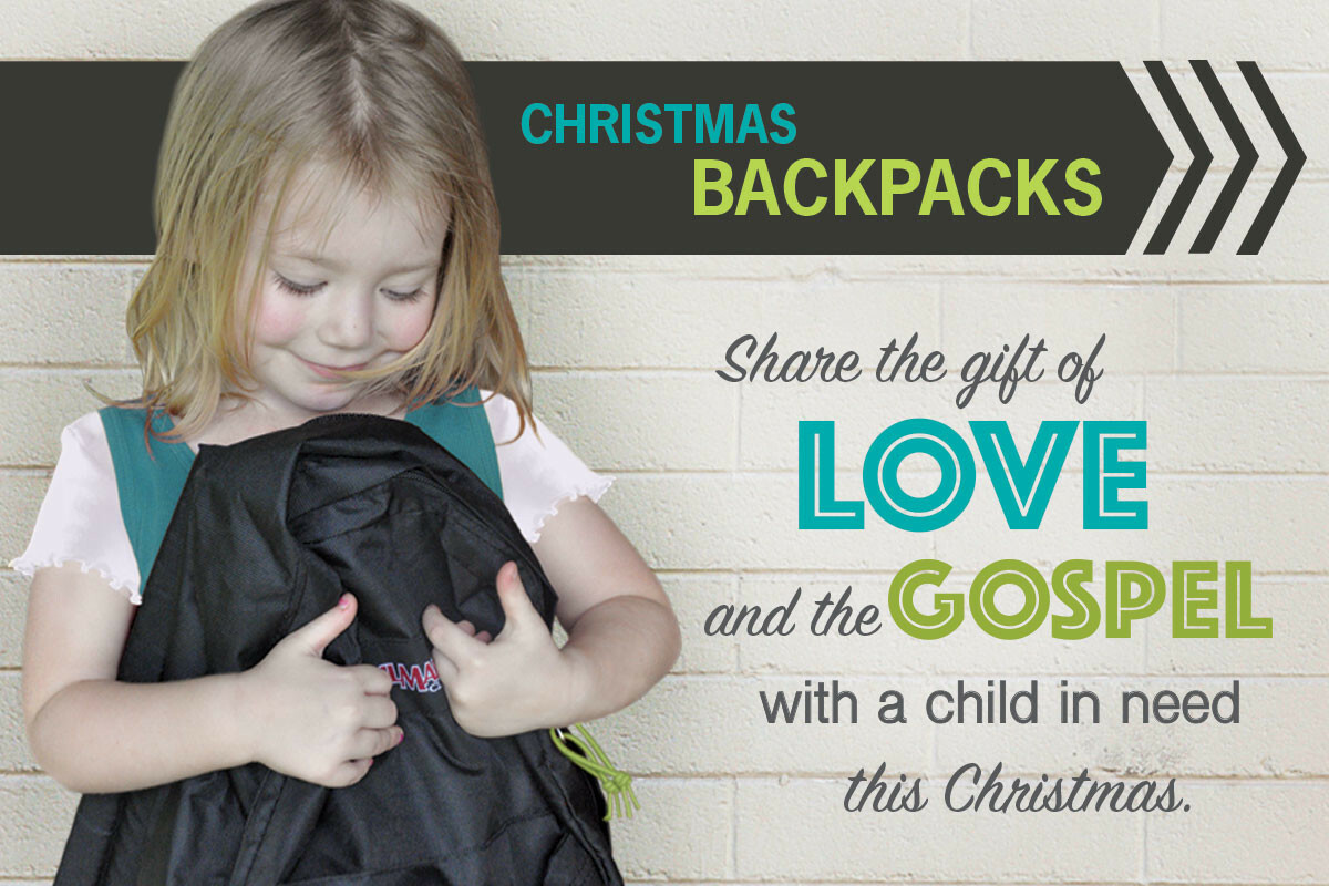 BACKPACKS FOR CHRISTMAS