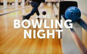 Men's Ministry Event - Bowling