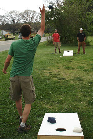 Battle of the Baptists Cornhole Clash in the Country