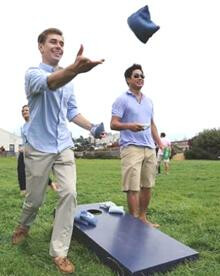Battle of the Baptists/Picnic & Corn Hole Clash in the Country